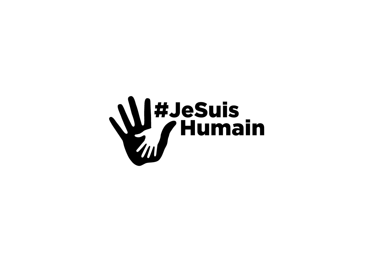 logo jesuishumain black