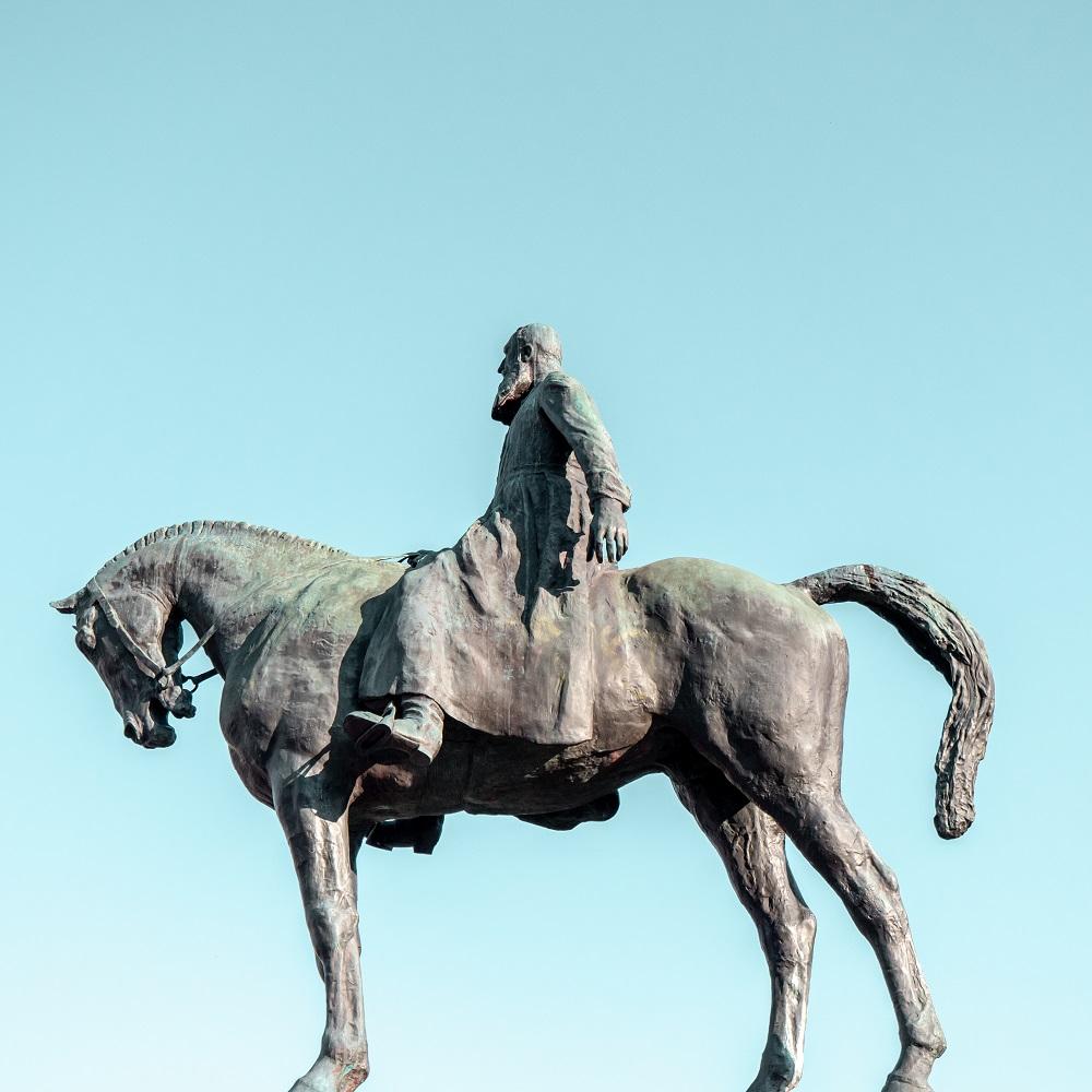 Statue équestre de Leopold II