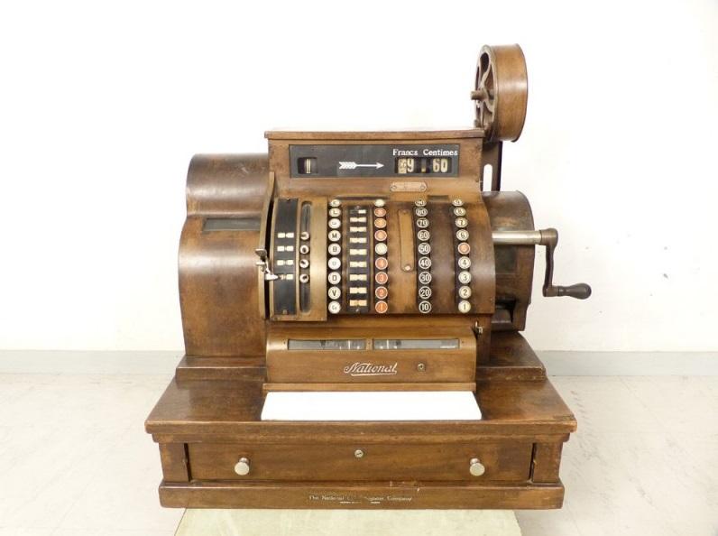 Ancienne caisse enregistreuse