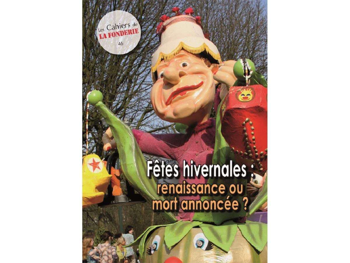 """Couverture du Cahier de La Fonderie n°46, """"fêtes hivernales""""."""