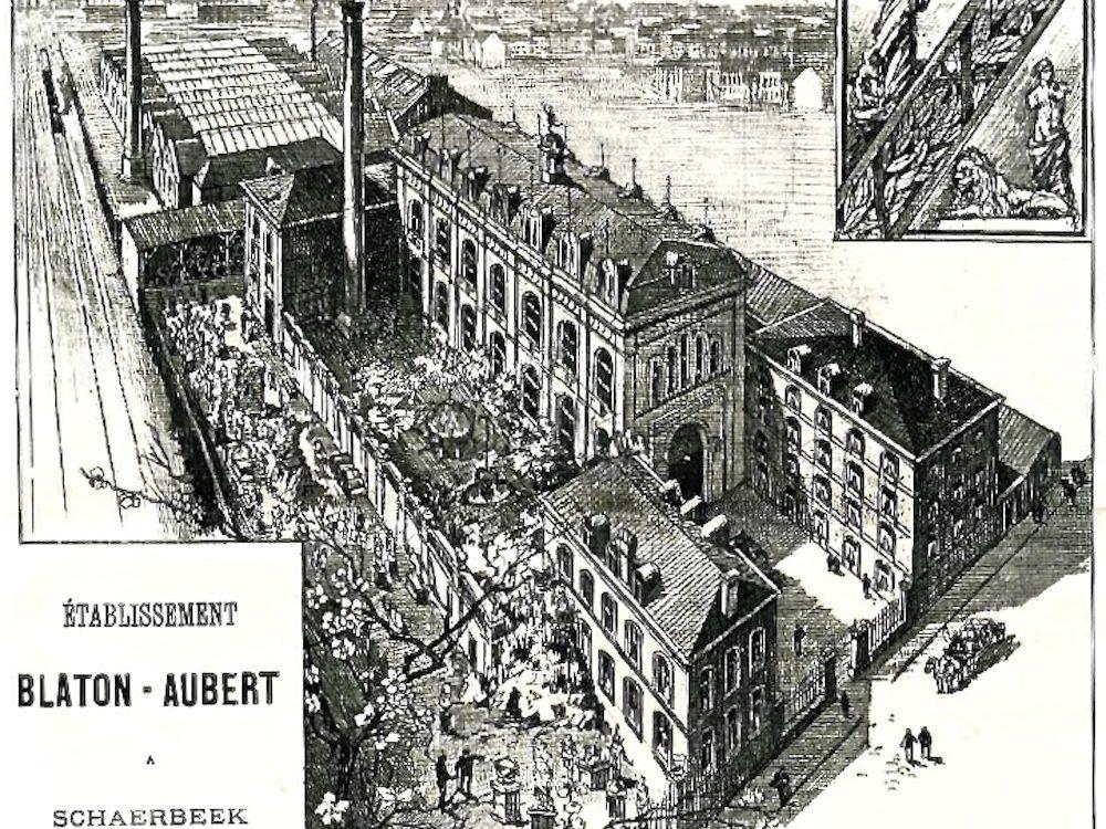 Publicité Blaton Aubert